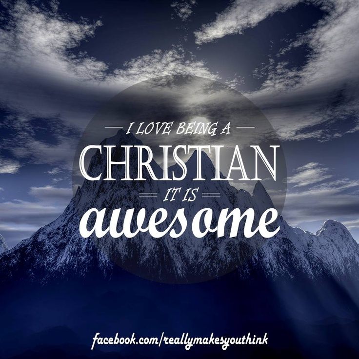 Christianity rocks #repin if you agree    Tags: image, quote, inspiration, words of wisdom, proverb, encouragement, words to live by