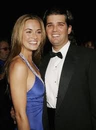 Donald Trump, Jr and Vanessa Haydon - married in 05