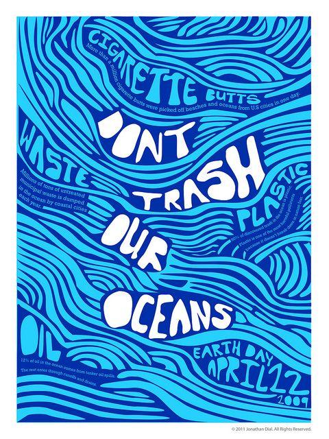 Flickr: Earth Day Poster (San Diego University) by gojon25