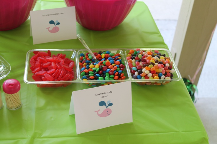 19 best whale birthday images on pinterest birthday for Swedish fish jelly beans