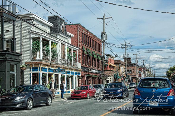 Main street, Magog, Quebec