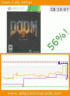 Doom 3 Bfg Edition (Video Game). Drop 56%! Current price C$ 19.97, the previous price was C$ 44.88. https://www.adquisitiocanada.com/bethesda/doom-3-bfg-edition-rp