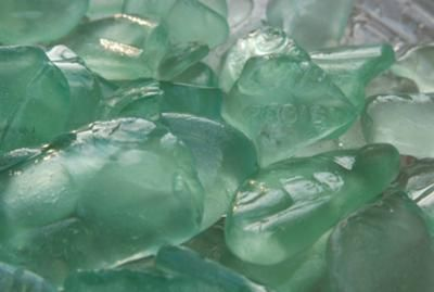 Cola Seafoam Finds - July 2012 Sea Glass Photo Contest:  By: Cathy - Rocky River, OH  Where was this photo taken? Southern Shores of Lake Erie  What kind of camera and/or lens did you use? Nikon D80 with