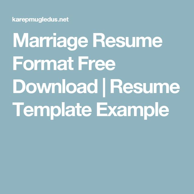 25+ unique Resume format free download ideas on Pinterest Resume - free download resume format