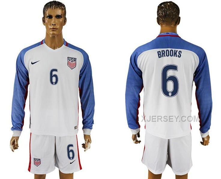 6133aa29c66 ... away 2016-2017 USA National Soccer Kits 12 2017-2018 Manchester United  1 DE GEA red women soccer jersey home httpwww.xjersey.comusa-6-brooks-.