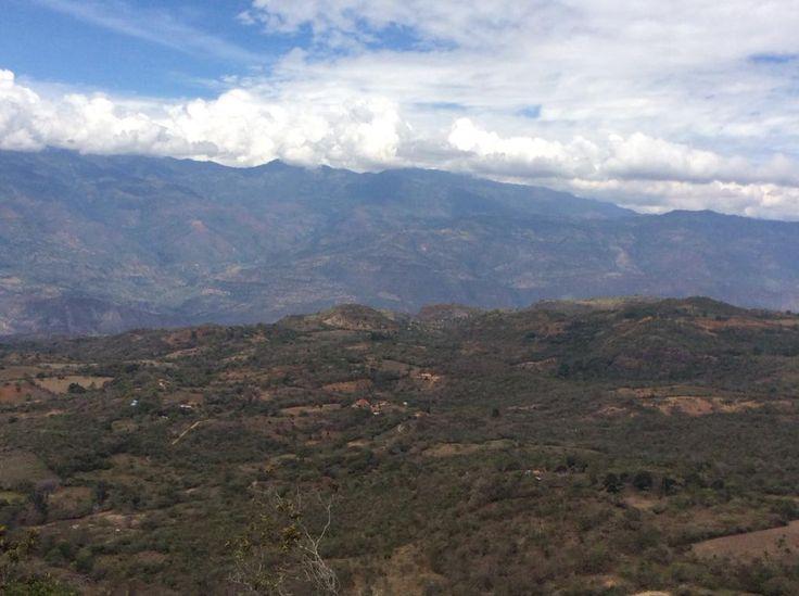 Camino entre Villanueva y Barichara