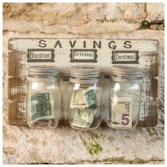Saving Money Jars Image By Nessita Money Jars Diy