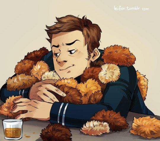 Bones and the tribbles