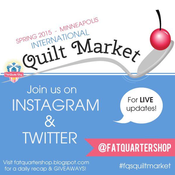 2015 Spring Quilt Market at Minneapolis!