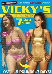 Vicky Pattison's 7 Day Slim [DVD] | Big Fat Offers UK