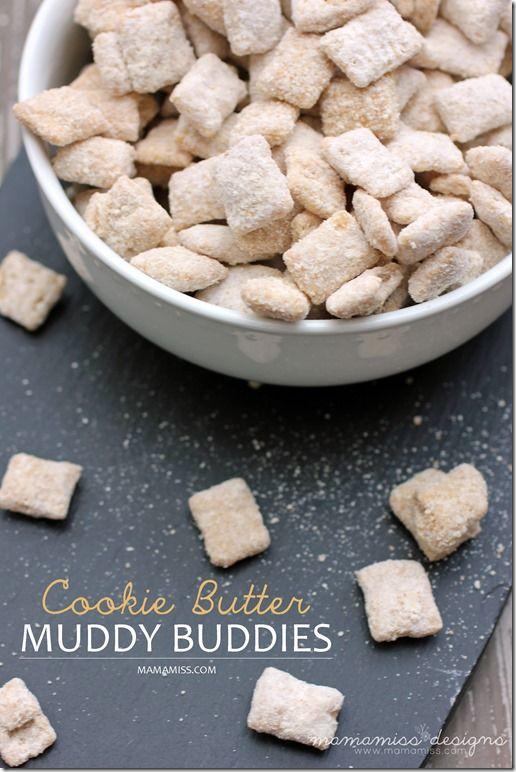 Cookie+Butter+Muddy+Buddies+|+@mamamissblog+#traderjoes+#cookiebutter+#muddybuddies