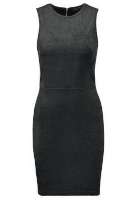 SUEDETTE - Fodralklänning - black