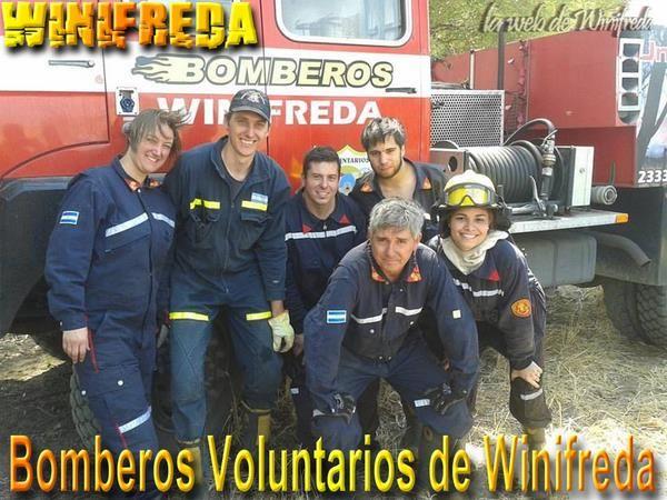 Bomberos de 23 cuarteles se capacitaron en Winifreda