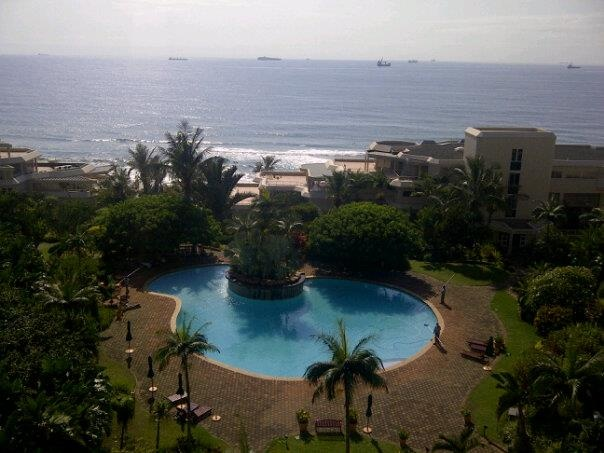 View from Edge of the Sea, Umhlanga