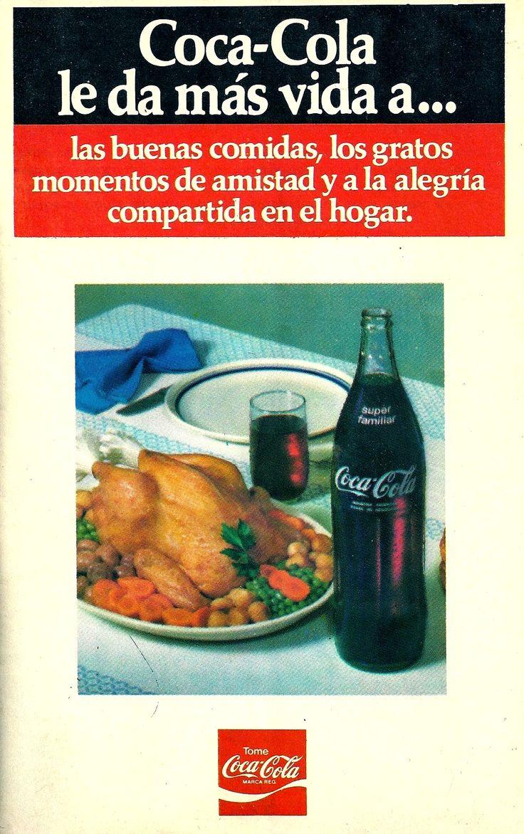 COCA COLA, década del 70.