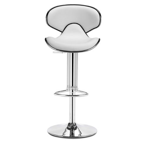 Zuo Modern Contemporary Fly White Bar Chair