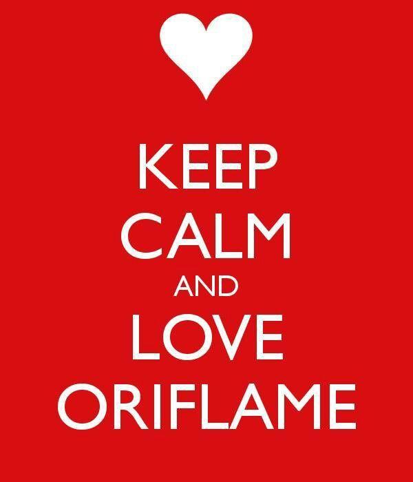 KEEP CALM and LOVE ORIFLAME