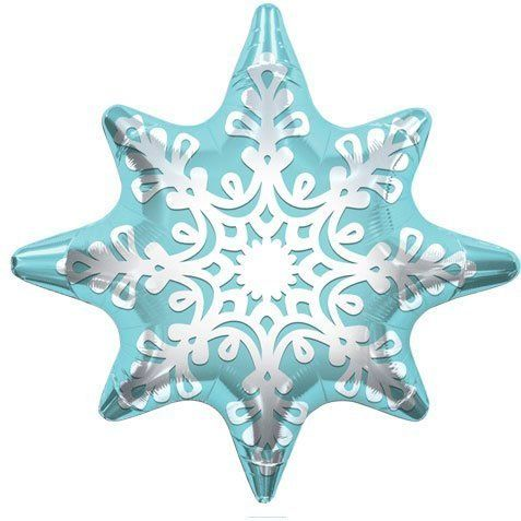 Snowflake Balloon: every purchase through this link supports charity