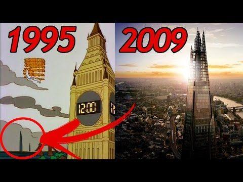 22 SIMPSONS Vorhersagen, die WAHR wurden (Simpsons sehen die Zukunft) | MythenAkte - YouTube