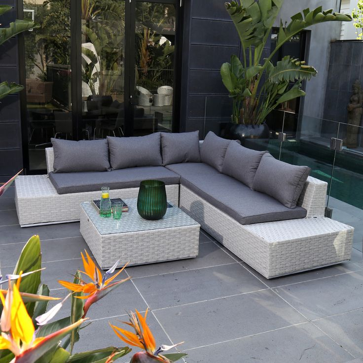Amazing Outdoors Domain   Luna Illuminating Lounge Setting, $1,999.95 (http://www.  Outdoor LivingLounges Part 18