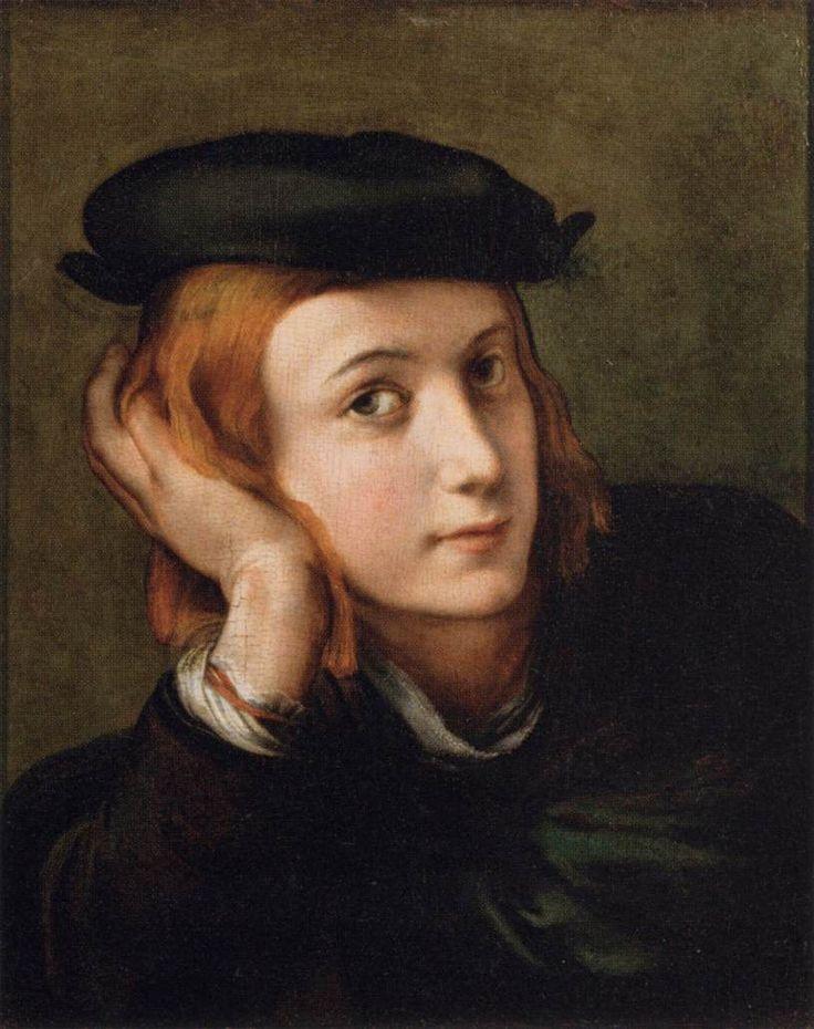 parmigianino - portret mladića