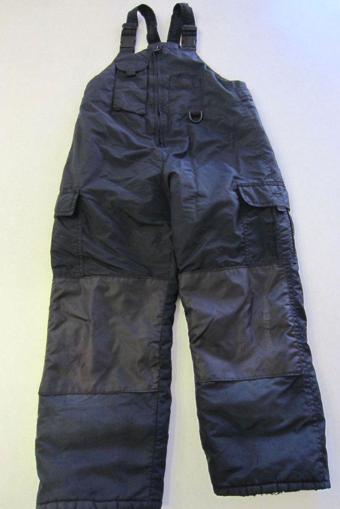 Sportrax Bib Snow Pants 8 Black Ski CLEARANCE SALE #Sportrax #SkiPants