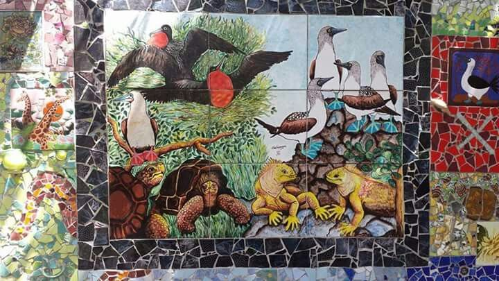 Mural eb Galápagos