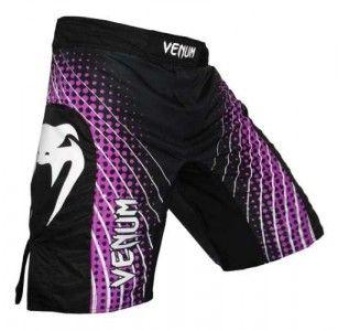 Venum Electron MMA Shorts - Purple and Black