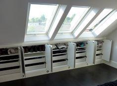 Under Eaves Storage | Traditional Conservatories Ltd