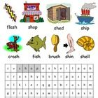 sh phonics lesson plans, worksheets, activities and other teaching resources