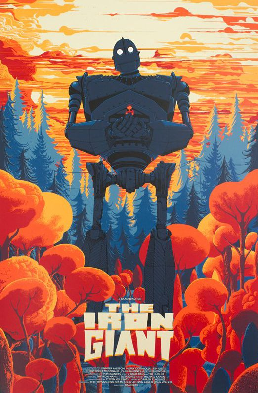 'The Iron Giant' (Regular Edition) by Kilian Eng