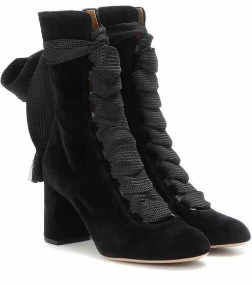 Harper velvet boots | Chloé