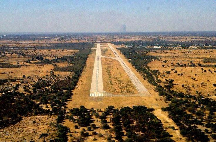 Rucana air base. Ops into Angola during Bush War. SAAF friends into or out of here many times.