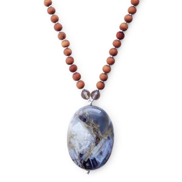 Flower Agate, Smoky Quartz, Lepidolite You embrace new experiences, exposing your family to all that the world has to offer. The Adventurous Mama Mala supports your desire to travel, explore and embrace this wondrous life. #malabeads