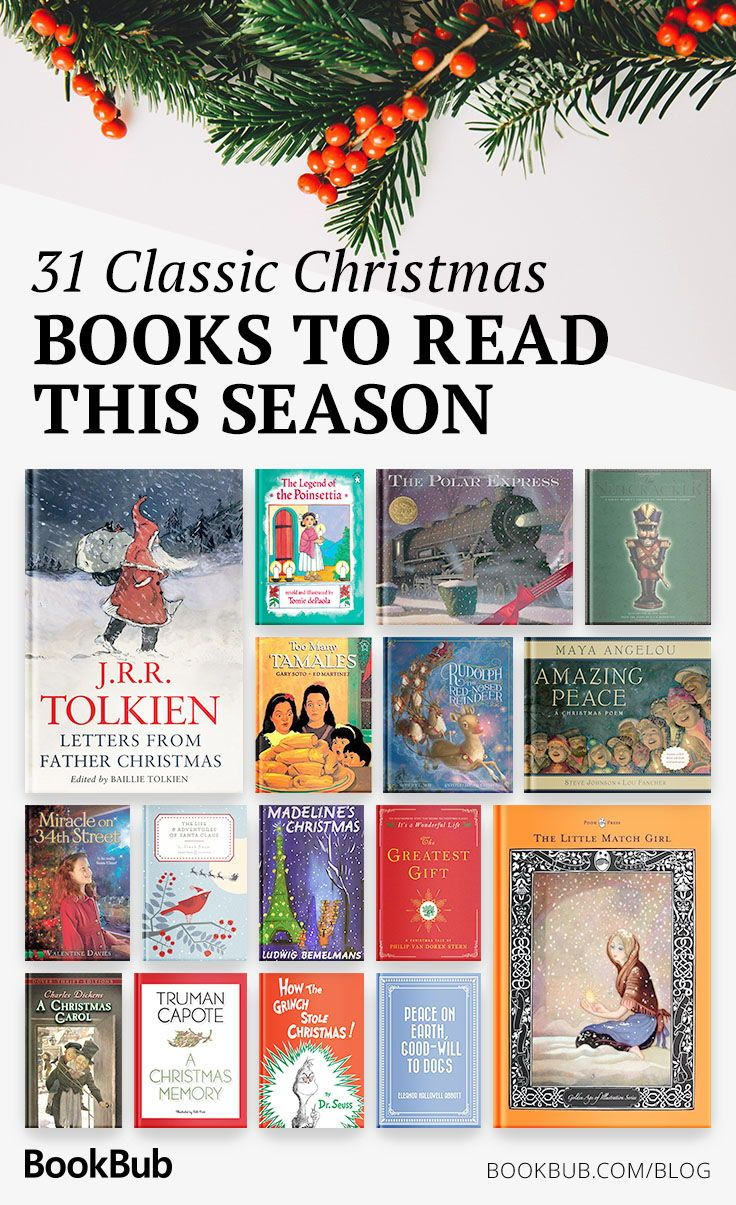 31 Classic Christmas Books To Revisit This Season Christmas Books Holiday Books Books