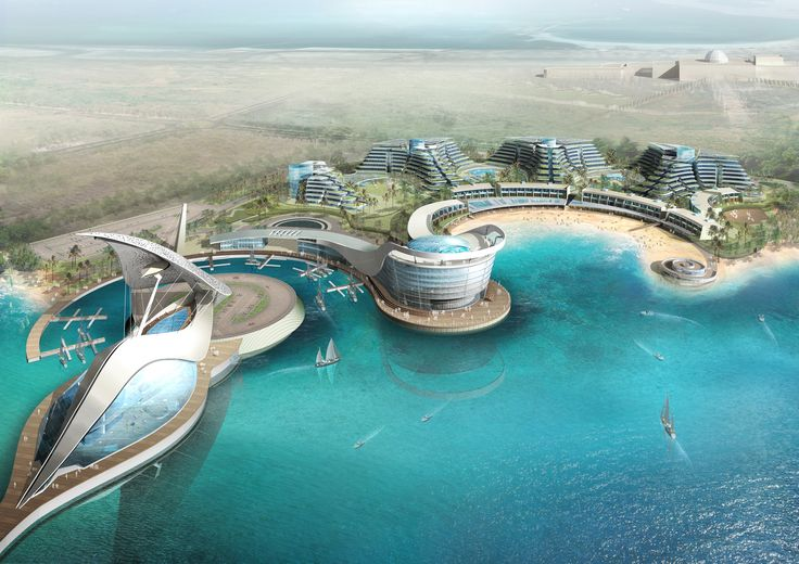 Abu Dhabi Ferry Terminal Options 2009