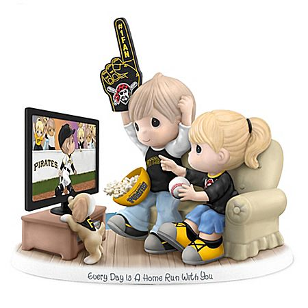 Precious Moments Every Day Is A Home Run With You - Pittsburgh Pirates Figurine