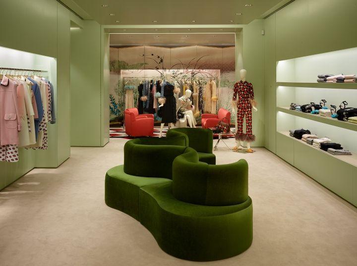 Prada store, Paris, London, Milan » Retail Design Blog