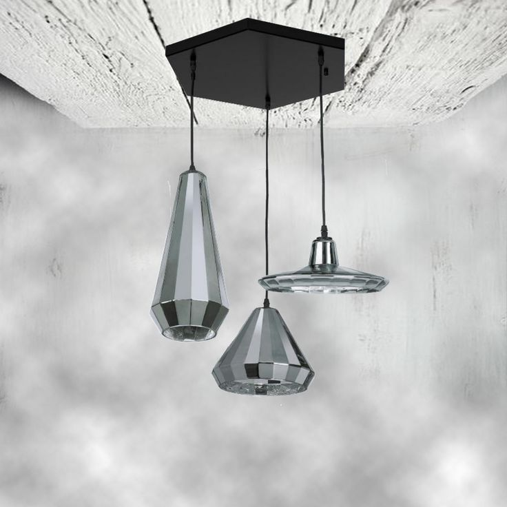 E2 Contract Lighting | Products | CL-31864 PENDANT LIGHTING |CL-31864 is a designer triple glass pendant, varies in sizes.