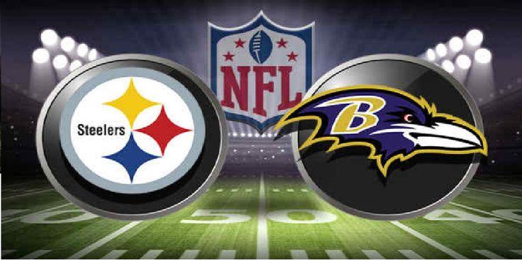 Ravens vs Steelers football game live