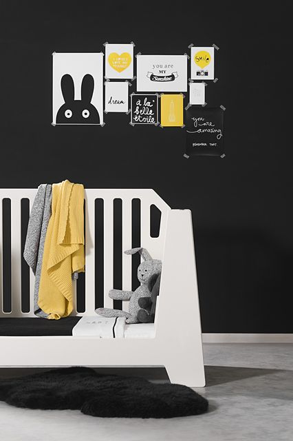 Black, white & yellow by Jollein