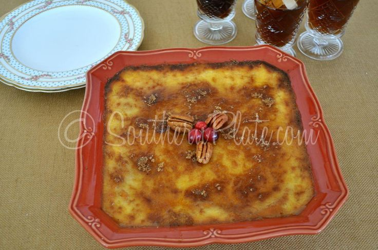 Sweet Potato Creme Brûlée ..  I make this every year!