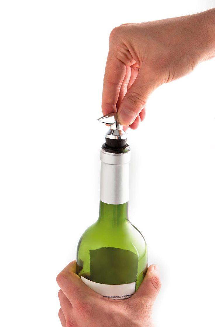 Tapón para botellas de vino o champagne - Colección Mi Bar en casa