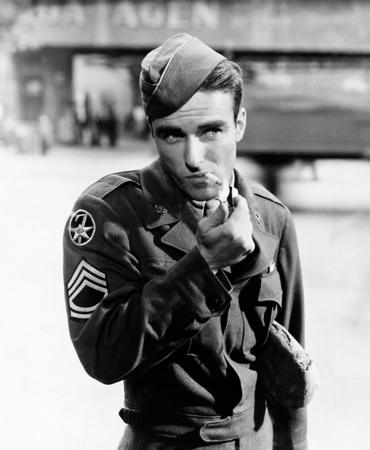 "Montgomery Clift in ""The Big Lift"" (1950)"