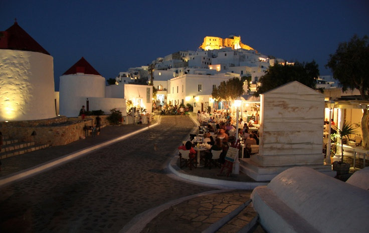 Chora of Astipalaia, Greece