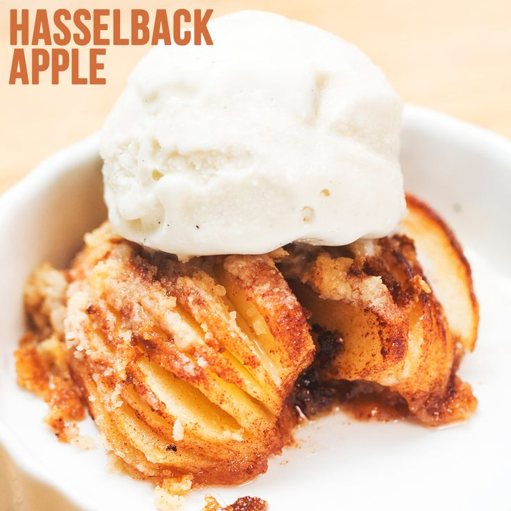 Hasselback Apple