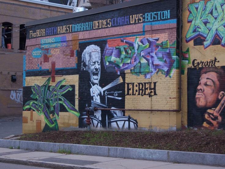 Wall art in Roxbury, MA