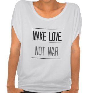 """The """"Make Love, Not War"""" Top"""