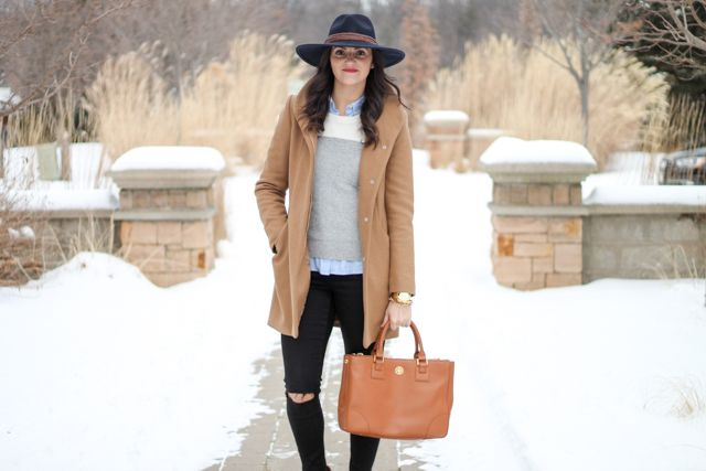 Style Of Living- Camel, Black and Grey | Wearing neutrals for winter