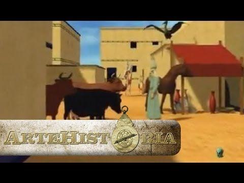 ▶Reconstrucción en 3D de las ciudades y casas del antiguo Egipto.